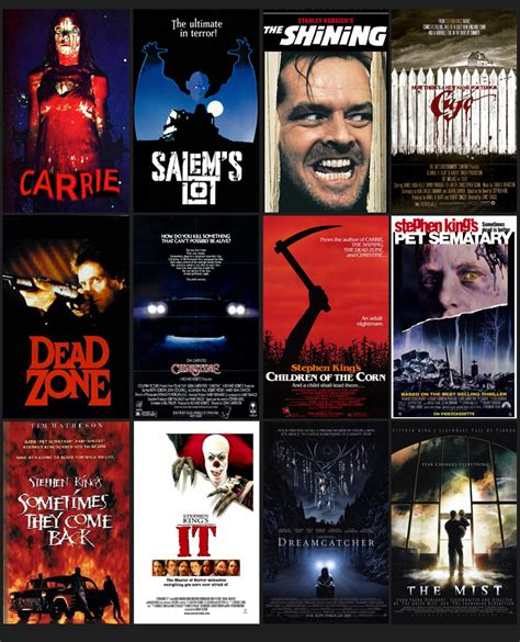 film it stephen king top 10 stephen king movies based on the popular books