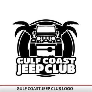 Jeep Sticker Gulf Coast Jeep Club Logo Alphavinyl