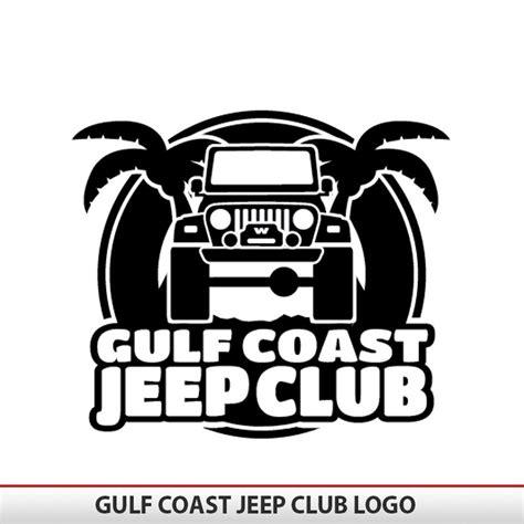gulf coast jeep gulf coast jeep club logo alphavinyl