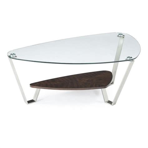 Nickel Table L Magnussen Pollock Cocktail Table In Brushed Nickel And Walnut T2117 65x Kit