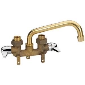 Laundry Sink Plumbing by Homewerks Worldwide 2 Handle Laundry Tray Faucet In