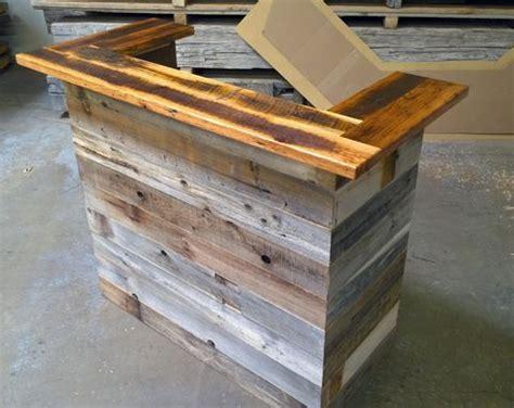 Hand Made Reception Desk Made From Antique Oak Barn Wood Antique Reception Desk