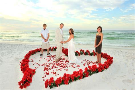 hochzeitsfrisur strand 45 romantische ideen sch 246 nheit am strand