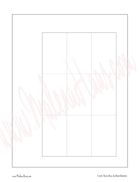 Classic Medium Sized Happy Planner Weekly Layout Template Happy Planner Template