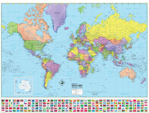 world city map poster world wall map country flags poster earth globe by coolowlmaps