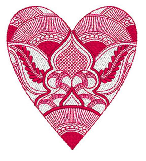 Decorative Hearts by Mylar Decorative Hearts 2 Purely Gates Embroidery