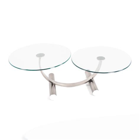 contemporary glass top coffee table istage homes