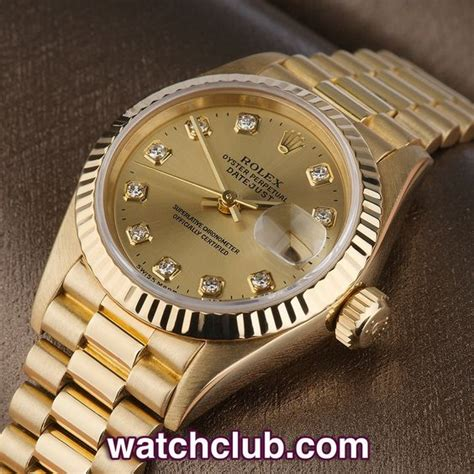 Diskon Rolex Sepasang Gold Cover White rolex datejust quot yellow gold quot ref 79178 year 1995 a beautiful solid