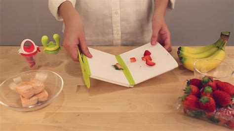 Kidsme Cutting Board 2 kidsme antibacterial foldable cutting board