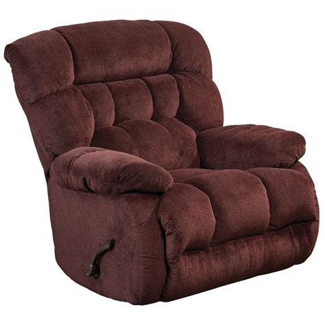 catnapper chaise catnapper daly chaise rocker recliner in cranapple 4765 2