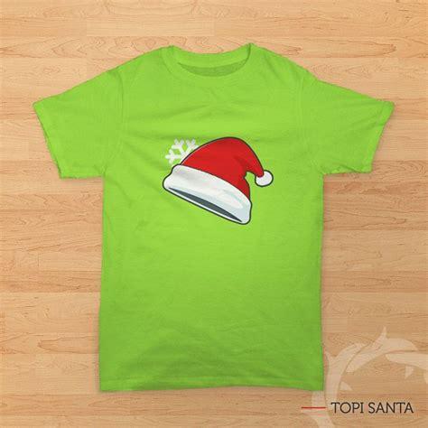 Topi Santa Anak Anak topi santa kaos natal bergambar topi sinterklas