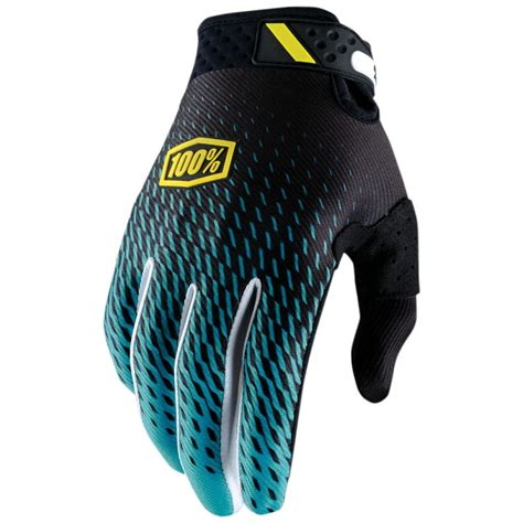 100 motocross gloves 100 racing ridefit mens dirt bike off road atv riding