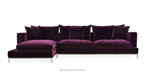 chair impressive purple sectional  fascinating design