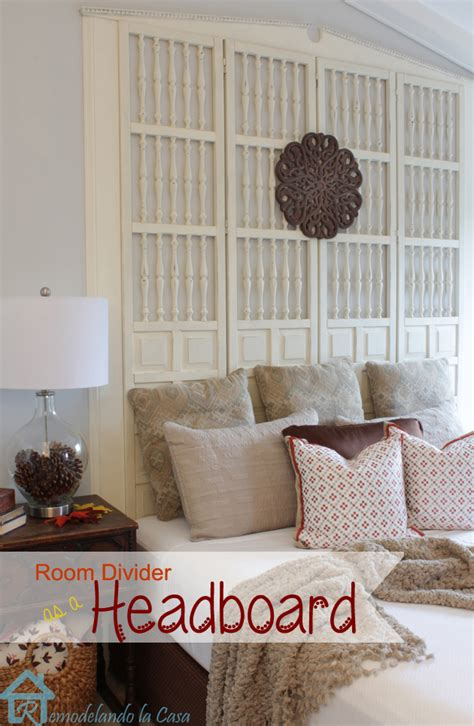 diy king headboard ideas upcycled free room divider becomes a king size headboard