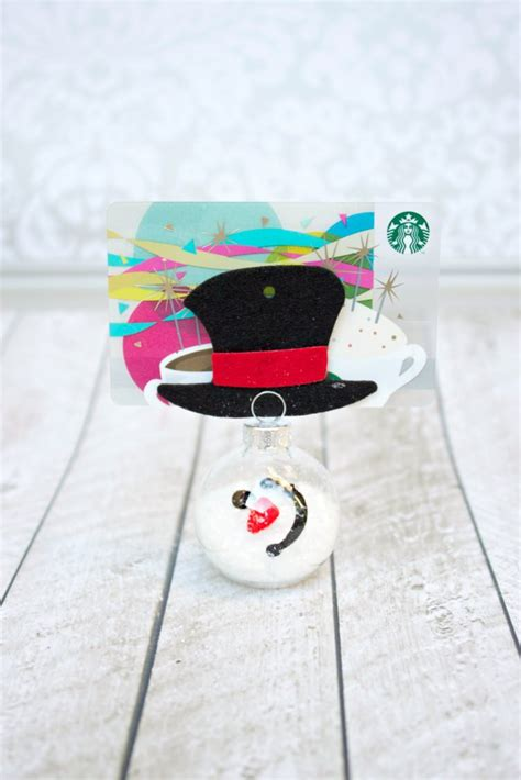 standing snowman christmas card holder melted snowman gift card holder tutorial morena s corner
