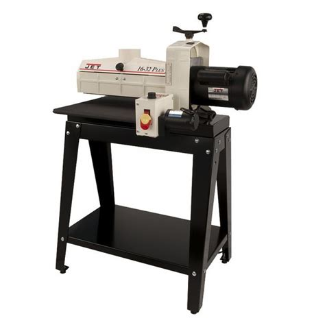 woodworking drum sander jet 629004k model 16 32 plus drum sander with stand ct