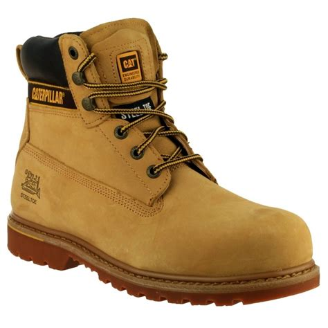 Caterpillar S7 Safety Boot cat holtonhn caterpillar holton safety boots honey