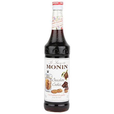 Monin Syrup Vanilla 700 Ml Cafe Coffee Original Syrup Monin Premium Chocolate Cookie Syrup 700 Ml