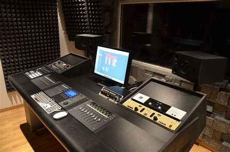 home recording studio desk plans woodideas