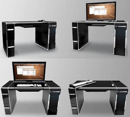 Meja Komputer Lengkap studioaji meja komputer tersembunyi
