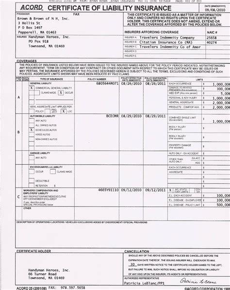 Hazard Insurance Letters insurance company auto insurance declaration page