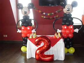 mickey mouse balloon decorations favors ideas