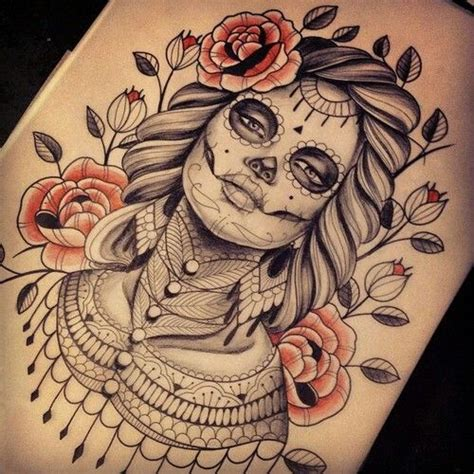 tattoo ink not taking day of the dead design day of the dead tattoo