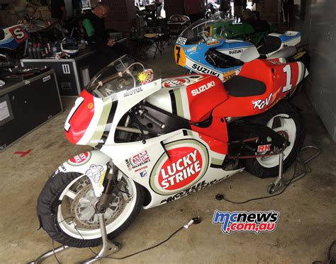 Barry Sheene Suzuki Rg500 Barry Sheene Festival Of Speed With Phil Mcnews Au