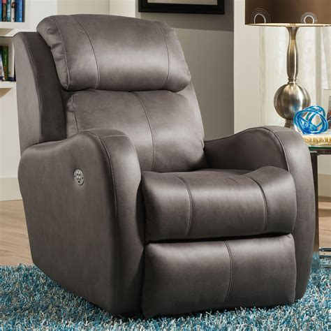 southern motion recliner southern motion recliners siri rocker recliner with power