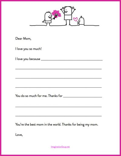 s day letter template 9 best images of printable template gift coupon