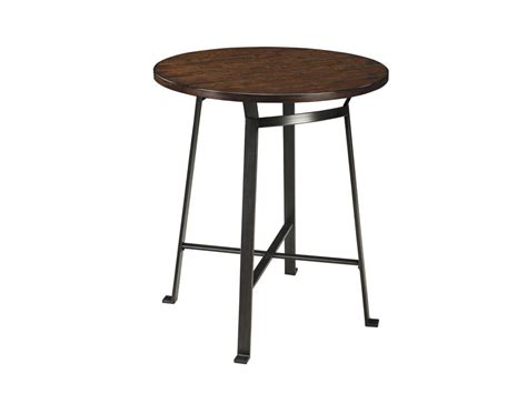 challiman counter height table challiman dining counter table set in rustic brown