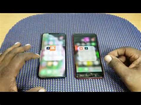 apple iphone xs max vs apple iphone 8 plus product apps opening comparison