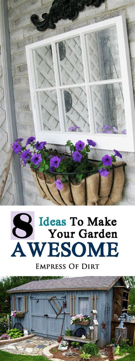 Ways to make your garden awesome trees and shrubs garden art and
