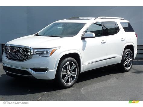 2017 white tricoat gmc acadia denali awd 115868537 gtcarlot car color galleries