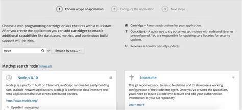 node js heroku tutorial how to migrate a node js app from heroku to openshift