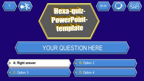 powerpoint templates for quizzes quiz template hexa download ppt themes