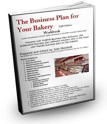 the business plan for your bakery food related