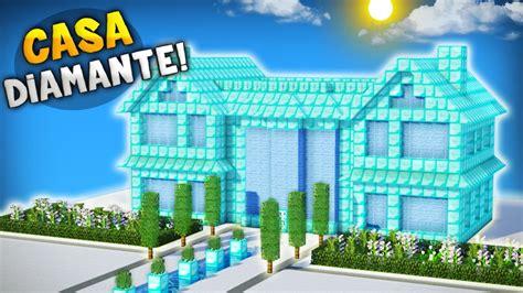 una casa de 100 8416427054 minecraft como seria una casa hecha 100 de diamante construyendo con diamante youtube