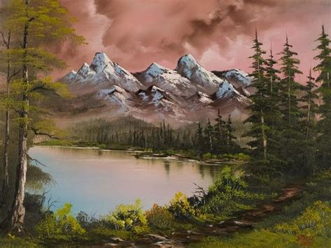 bob ross painting happy trees bob ross paintings for sale autumn painting bob