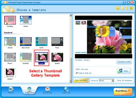 tutorial design graphic how to make a flash photo gallery