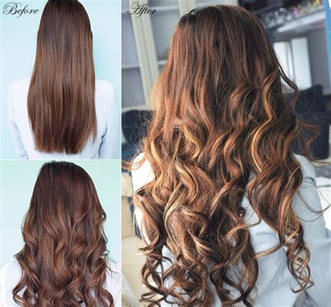 20 inch 4 medium brown 20 inch wave clip in hair extensions 4 medium brown