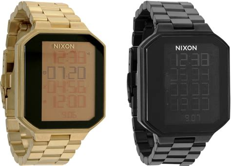 Nixon Re Run All Gunmetal Original nixon the synapse offers touch activated geekiness