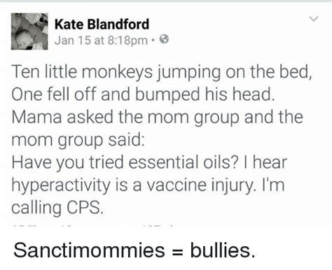 ten little monkeys jumping on the bed 25 best memes about sanctimommy sanctimommy memes