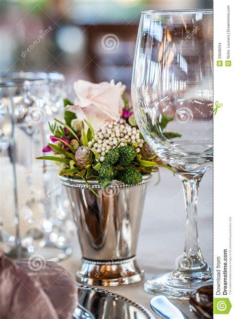 fiori d argento fiori d argento e selvaggi cristallo fotografia stock