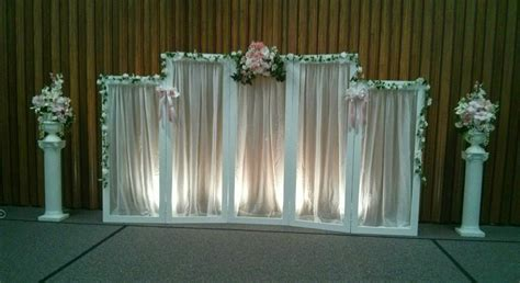 Wedding Backdrop And Stand by Creative Wedding And Decor Backdrop Choices