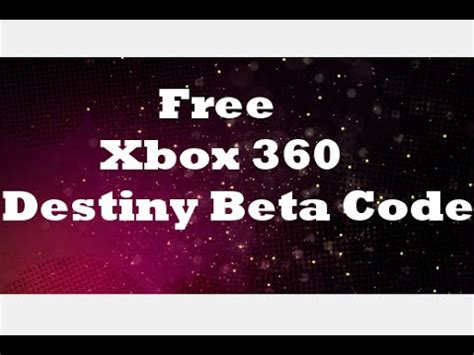 Beta Code Giveaway - full download closed free destiny beta codes giveaway