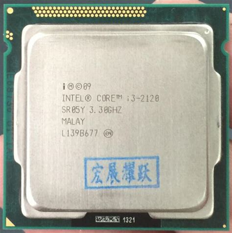 Prosessor Intel I3 2120 330 Ghz intel i3 2120 i3 2120 processor 3m cache 3 30 ghz lga1155 desktop cpu in processors from