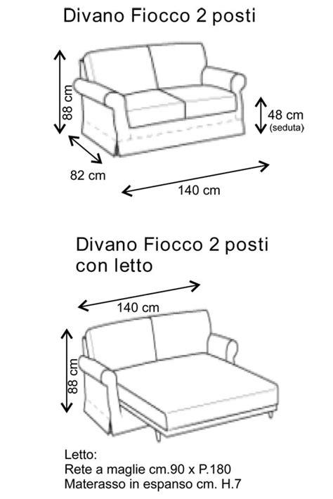 misure divano letto 2 posti mobili lavelli misure divani 2 posti