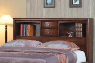 king bed with bookcase headboard
