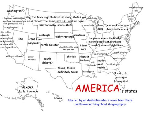 america map with states labeled us states as labeled by an australian who knew nothing of